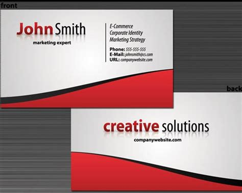 make personal business cards 30 design tutorials for creating professional business
