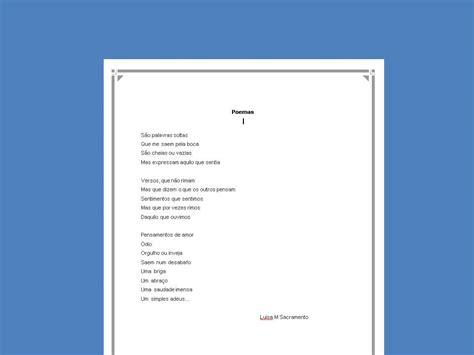 poesias e autores poemas