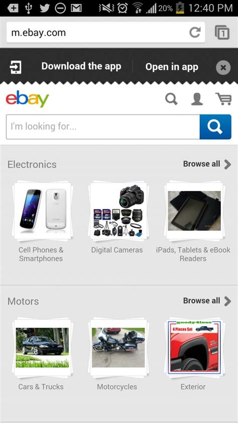 ebay site not mobile how to make mobile ecommerce convert what s effective in