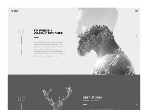 design portfolio header site header inspiration muzli design inspiration