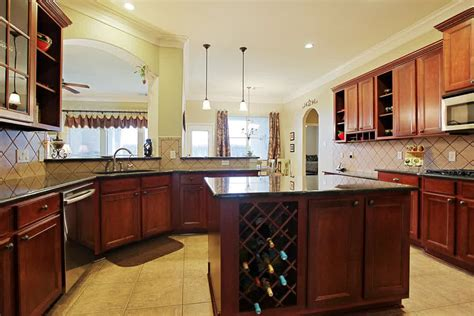 kitchen island with wine storage kitchen island with wine rack design options homesfeed