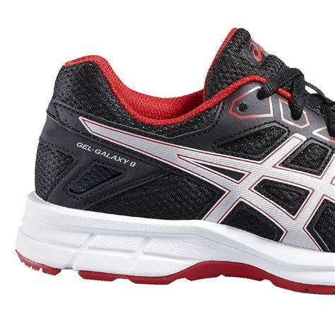 asics gel galaxy 9 gs junior running shoe aw16 38