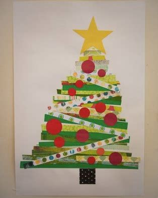 xmas tree activity out of construction paper scribble inspiring creativity 187 construction paper