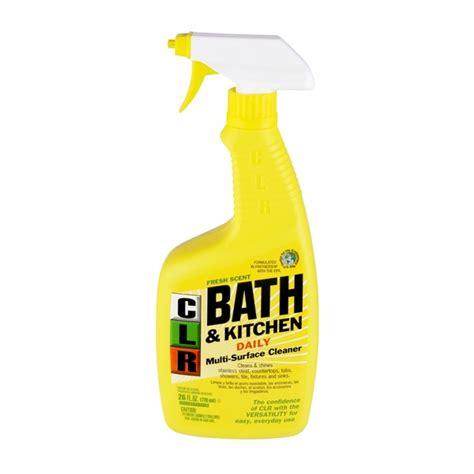 clr bathroom kitchen cleaner clr bath kitchen foaming action cleaner fresh scent from