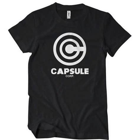 Hoodie Capsule Merah 3 Jidnie Clothing capsule corp t shirt anime textual tees