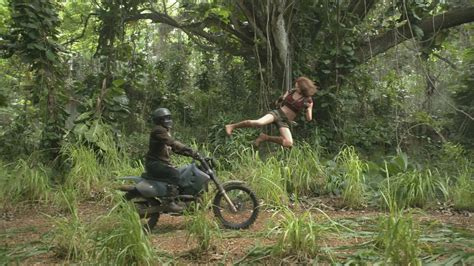 new film like jumanji jumanji welcome to the jungle shows off jack black s