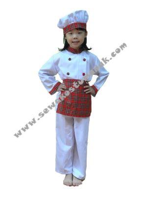 Kostum Chef Anak By Edutoys kostum anak koki kostum profesi chef sewa kostum di