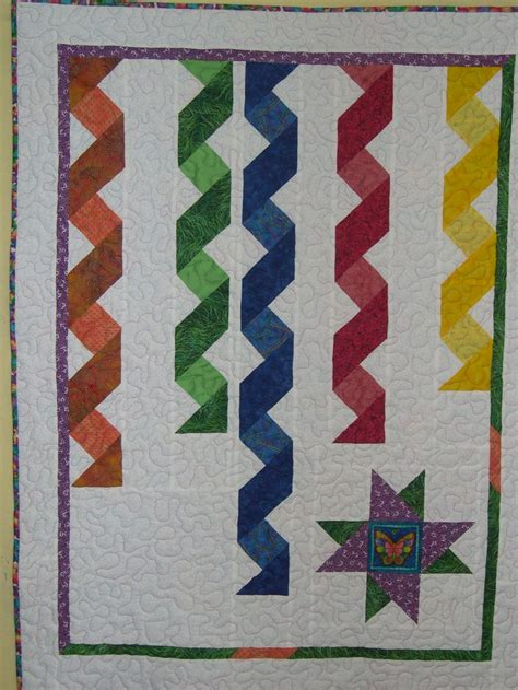 Ribbon Quilts by Ribbon Quilt For Baby Elizabeth Tecnicas Variadas De Patchwork Pi