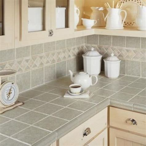 Hot D 233 Cor Trend 24 Tile Kitchen Countertops Digsdigs Tile Kitchen Countertop