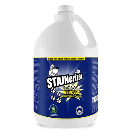 urine cleaner stainerizer non toxic pet urine enzyme cleaner 1 gallon