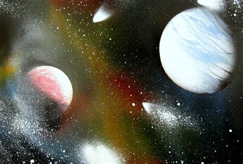 Planets Spray Paint Page 4 Pics About Space