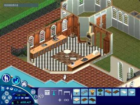 the sims 1 house celebrity mansion youtube
