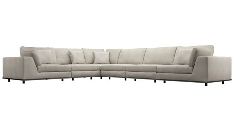 extra seating modern persis extra seating l sectional sofa moonbeam
