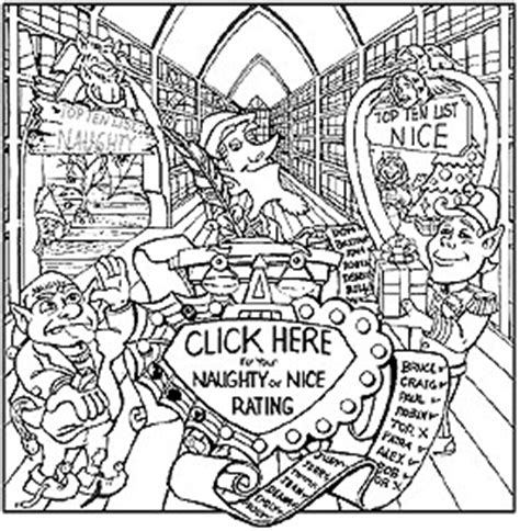 coloring pages of santa s workshop santa claus coloring book