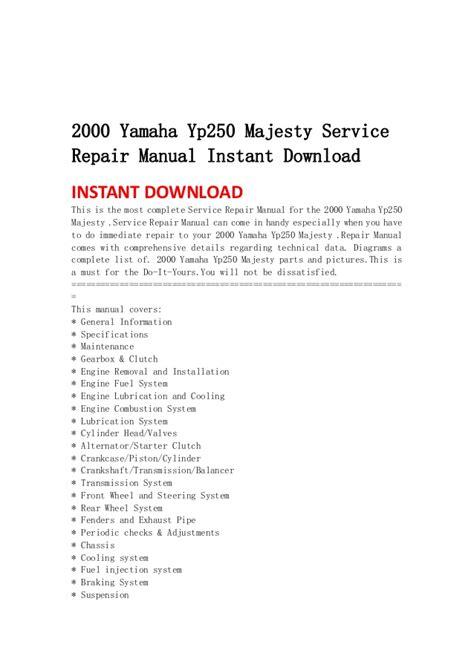 service manual how to download repair manuals 2009 nissan gt r regenerative braking nissan 2000 yamaha yp250 majesty service repair manual instant download