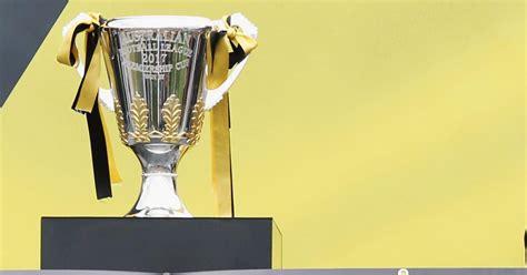 tigers  premiership cup  richmondfccomau