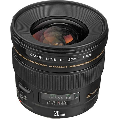 Canon Lens Ef 20mm F2 8 Usm canon ef 20mm f 2 8 usm lens 2509a003 b h photo