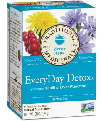 Organic Everyday Detox Tea by Everyday Detox 174 Traditional Medicinals