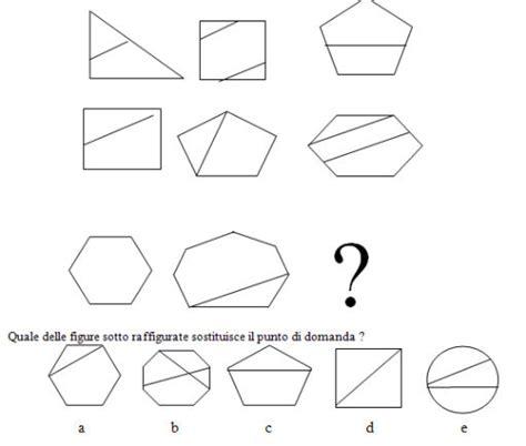 test logica con soluzioni test e quiz logica test delle serie 16 figurali