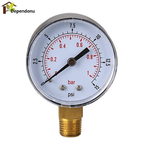 Pressure 15 Bar Aliexpress Buy 0 15 Psi 0 1 Bar Pressure Fuel