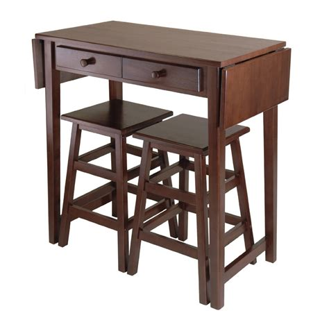 small drop leaf kitchen island dining table with storage