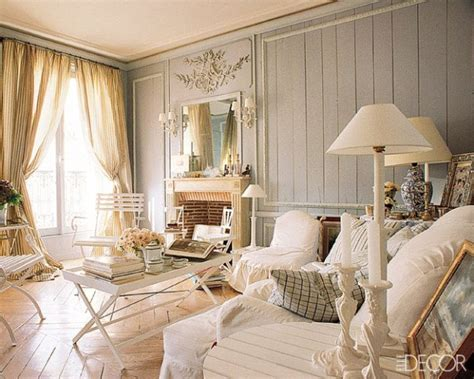 cottage chic salones shabby chic ideas para decorar dise 241 ar y