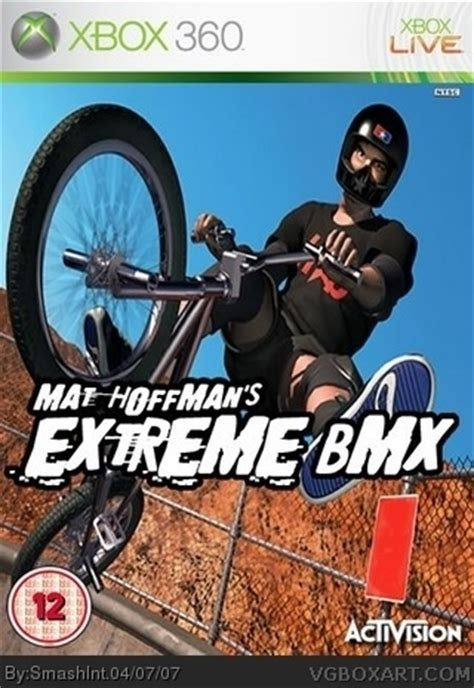 Mat Hoffman Pro Bmx 2 Xbox 360 by Mat Hoffman S Bmx Xbox 360 Box Cover By Smashint