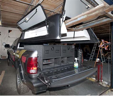truck bed vault truck vault bed drawer slide storage expedition portal