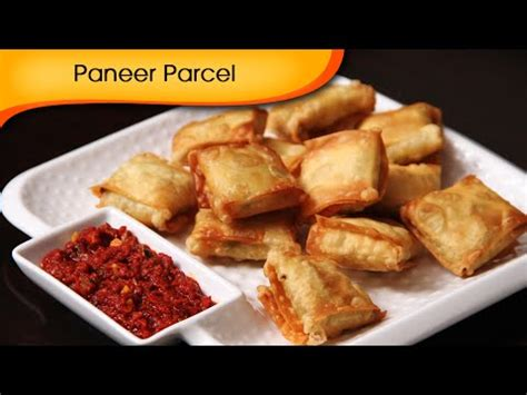 easy indian starter recipes for dinner paneer parcel easy to make starter crispy