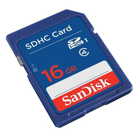Sandisk Sdhc Card 16gb sandisk standard sdhc card class 4 16gb sdsdb 016g bq35 jakartanotebook