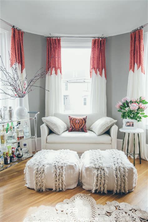 bohemian mod artistry in a small space shabby chic