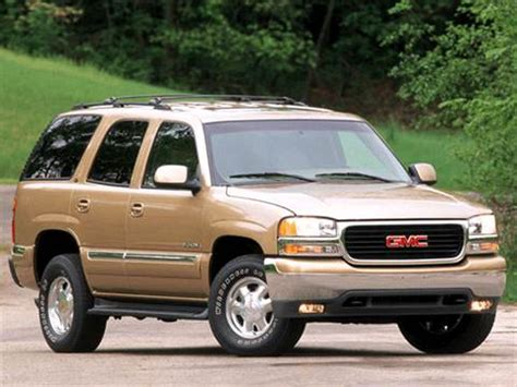 2002 gmc yukon pricing ratings reviews kelley blue book