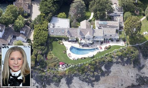barbra streisand s house barbra streisand to cut water usage amid california