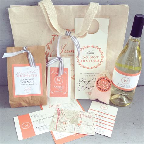 wedding guest bags wedding guest welcome bag with printed canvas tote