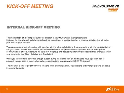 Project Kickoff Meeting Invitation Letter Sle 2014 Move Agents Toolkit