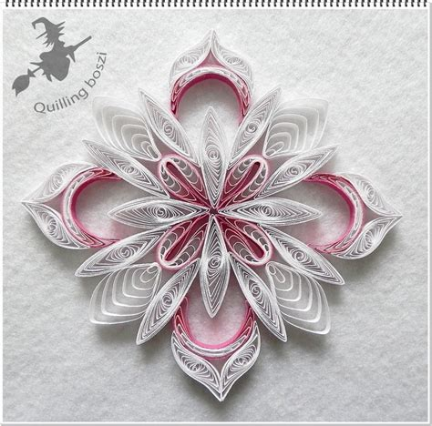 quilled christmas ornament patterns 17 best images about quilling snow flacks on quilling quilling tutorial and