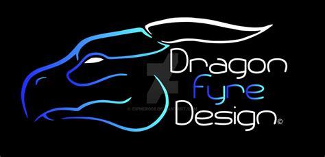 design logo dragon dragon fyre design logo by cipher002 on deviantart