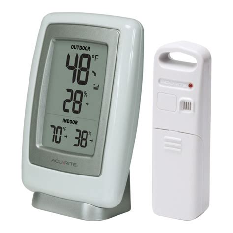 acurite backyard weather thermometer acurite 5 5 quot digital indoor outdoor temperature