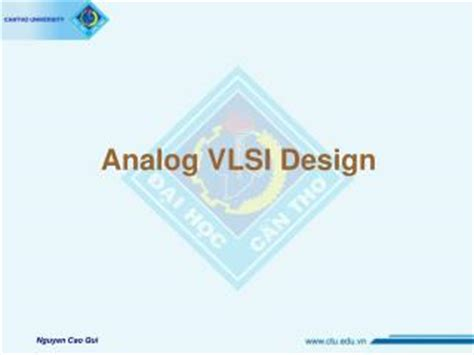 analog layout design guidelines ppt analog vlsi design powerpoint presentation id 193062