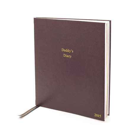 Personalised Desk Diary personalised large desk 2015 diary by noble macmillan