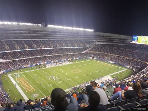 section 435 soldier field soldier field section 443 chicago bears rateyourseats com