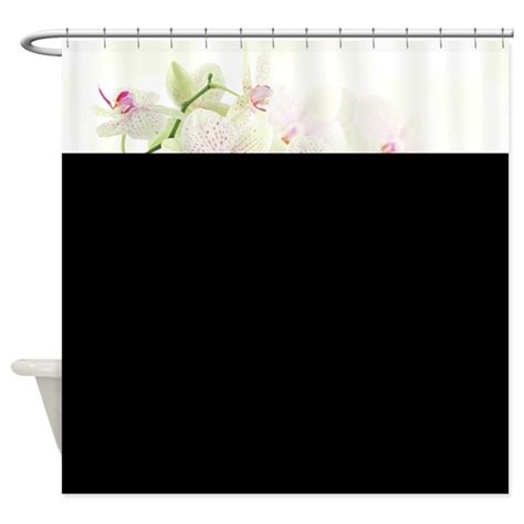 orchid shower curtain white orchids shower curtain by bestshowercurtains
