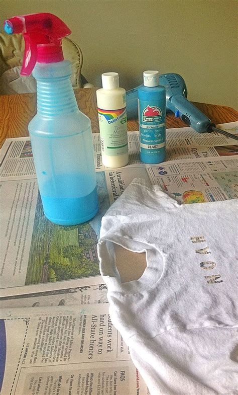 acrylic paint for fabric make your own fabric spray paint one part acrylic paint