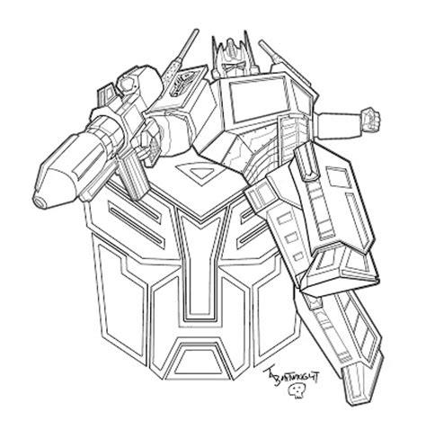 coloring book vk masami lauman optimus prime transformers coloring pages