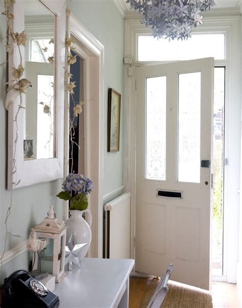 Top 28 Decorating Tricks To - pale green hallway with silver floral chandelier maximise