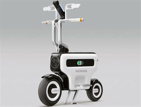 Honda shows off motor compo electric scooter concept