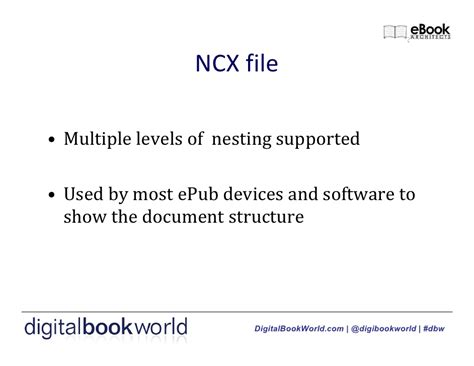 epub ncx format ebook 101 designing for kindle and epub