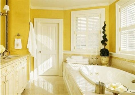 Yellow Bathroom Ideas by 12 Yellow Bathroom Design Ideas Room Decorating
