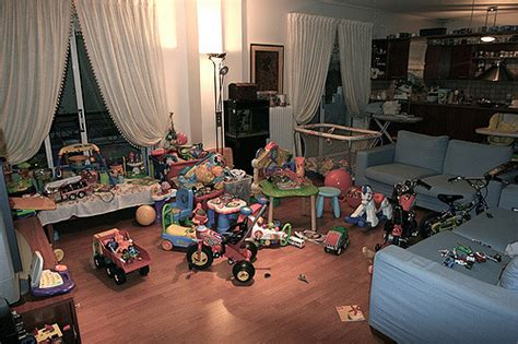 i used to live in a room full of mirrors a full with toys living room is our kids heaven theo