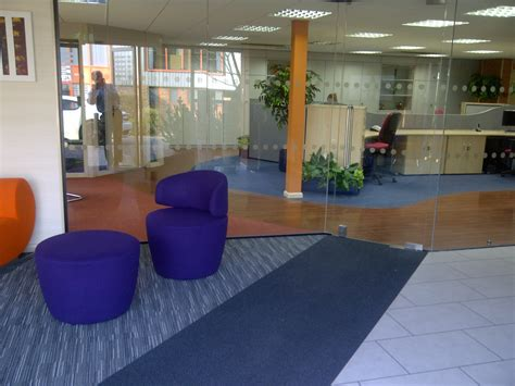 Carpet Tiles by Glass Partitioning Storage Concepts Blog